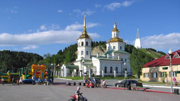Город Ханты-Мансийск. Архивное фото