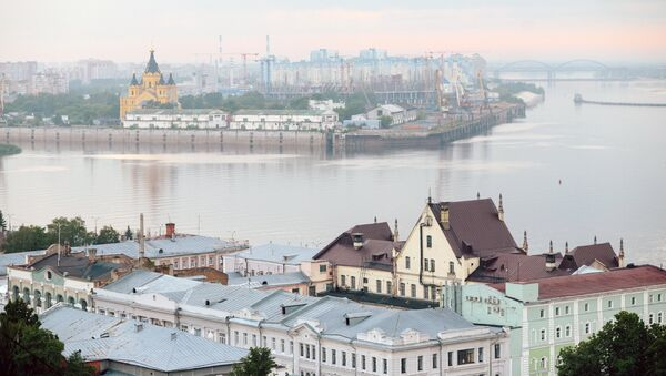 Нижний Новгород. Архивное фото.