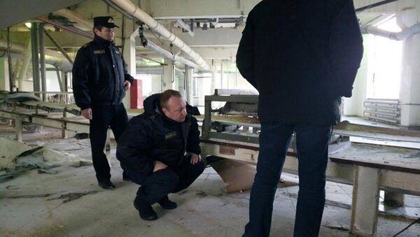 Ситуация на Скидельском сахарном комбинате под Гродно в Белоруссии
