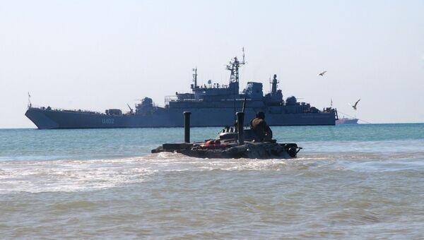 Корабль Константин Ольшанский. 2012 год