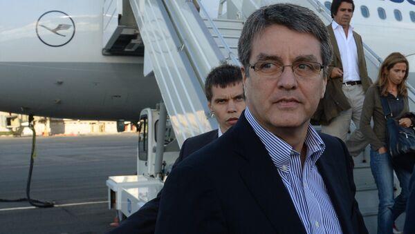 Генеральный директор Всемирной торговой организации (ВТО) Роберту Азеведу. Архивное фото