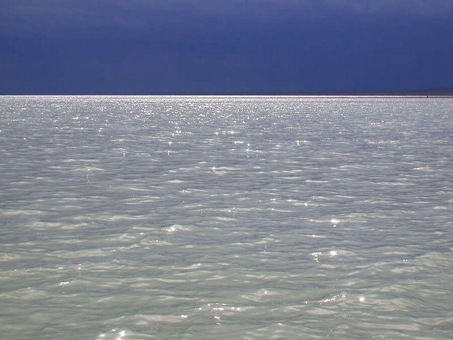 Вода в Торейских озерах молочного цвета