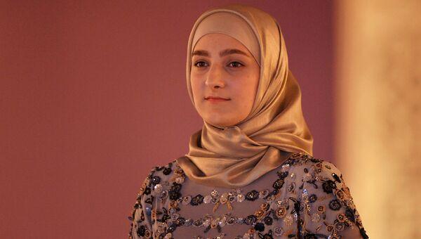 Дочь главы Чеченской Республики Рамзана Кадырова Айшат Кадырова. Архивное фото