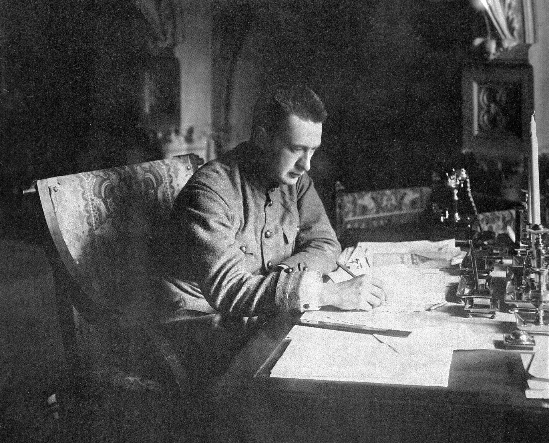 Министр-председатель Временного правительства Александр Керенский - РИА Новости, 1920, 08.06.2021