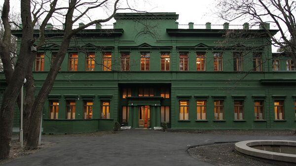 Кунцевская ближняя дача Иосифа Сталина в Москве. Архивное фото