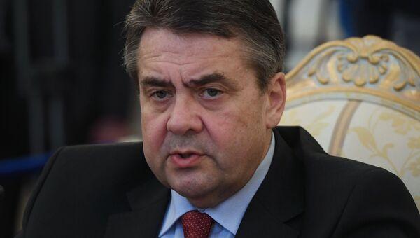 Министр иностранных дел Германии Зигмар Габриэль. Архивное фото