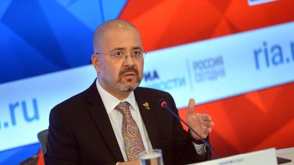 Чрезвычайный и полномочный посол Республики Ирак в РФ Хайдар Мансур Хади. Архивное фото