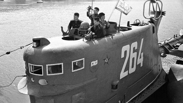 Советская ракетная подводная лодка