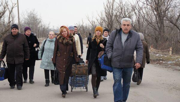 Родственники украинских военнопленных прибыли в ЛНР. 12.03.2017