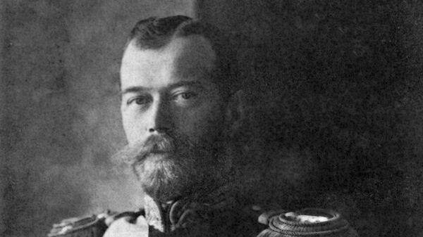 Николай II в военной форме. Архивное фото