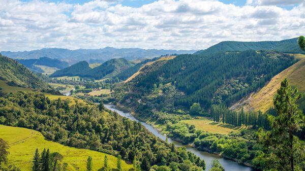 Река Уонгануи в Новой Зеландии