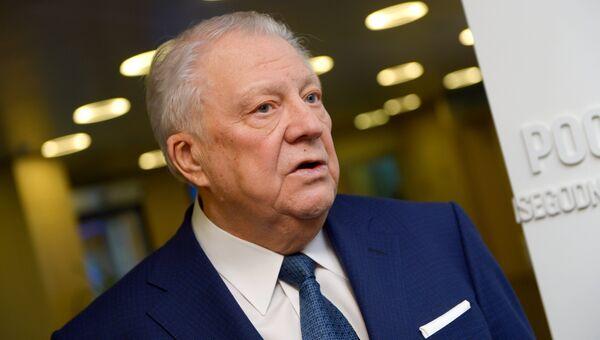 Глава Независимой общественной антидопинговой комиссии (НОАК) Виталий Смирнов. Архивное фото