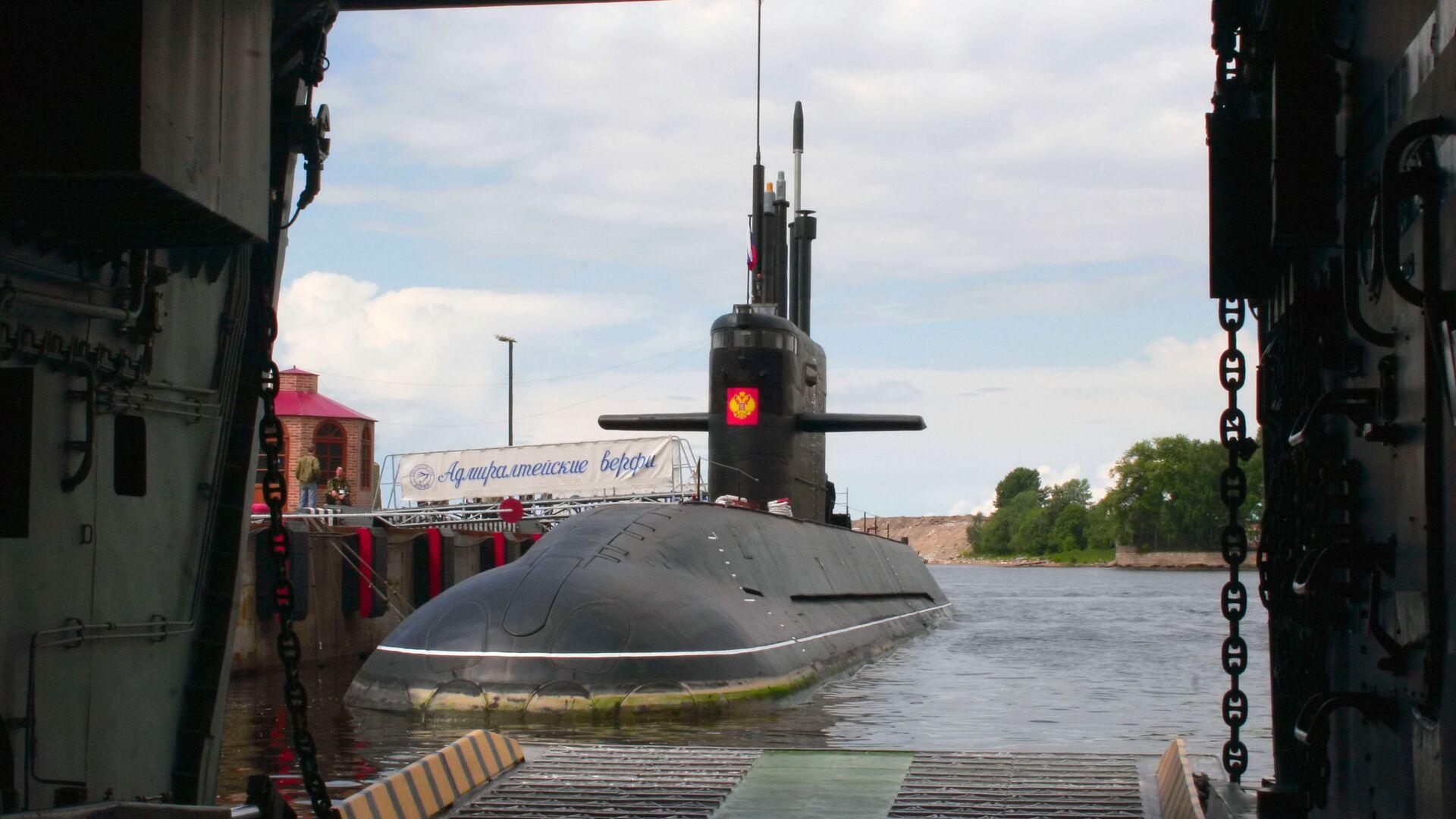 Дизельная подводная лодка Санкт-Петербург - РИА Новости, 1920, 13.05.2021