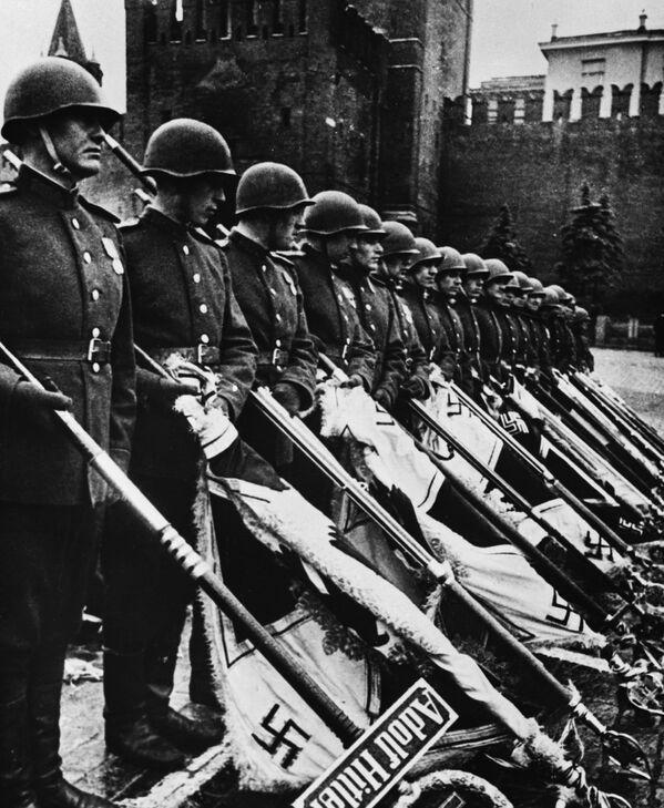 Парад Победы на Красной площади в Москве, 24 июня 1945