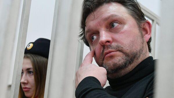 Экс-губернатор Кировской области Никиты Белых в Бассманном суде Москвы. Архивное фото