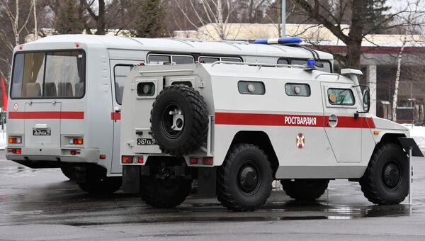 Машины войск Росгвардии. Архивное фото