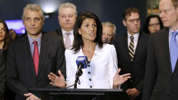 Постоянный представитель США при ООН Никки Хейли. Архивное фото