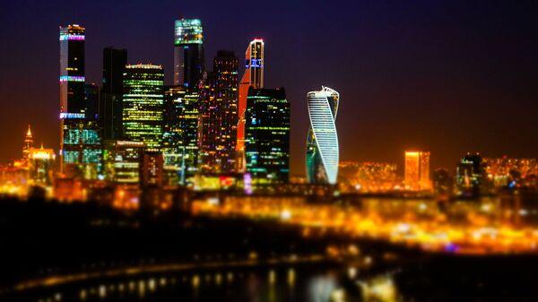 Московский международный деловой центр Москва-Сити. Архивное фото