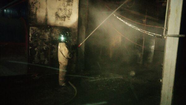 Ликвидация пожара в Верхнем Тагиле