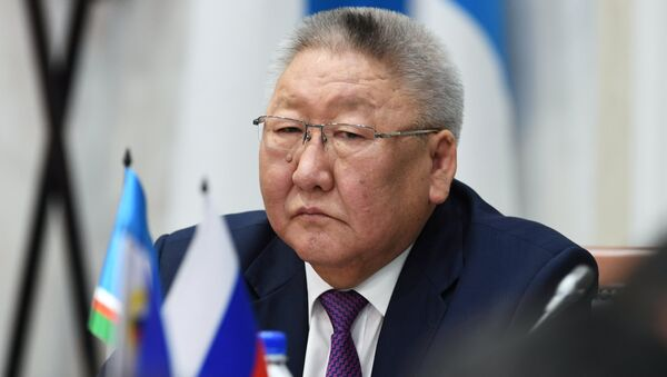 Глава Республики Саха Егор Борисов. Архивное фото