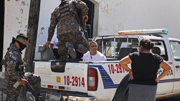 Полиция в Сальвадоре. Архивное фото