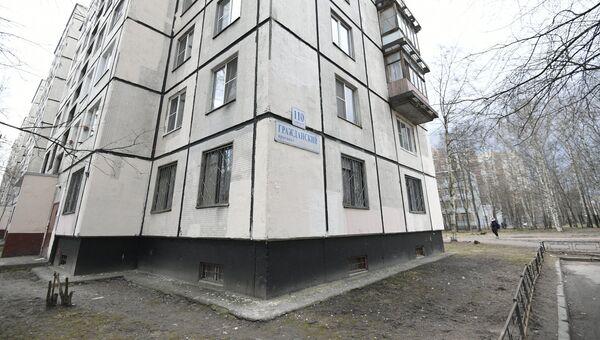 Дом, в котором жил вероятный исполнитель теракта в Петербургском метрополитене Акбаржон Джалилов
