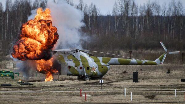 Совместные тактические учения подразделений Воздушно-десантных войск РФ и Сил специальных операций Вооруженных Сил Республики Беларусь в Витебске