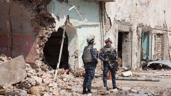 Военнослужащие иракской армии