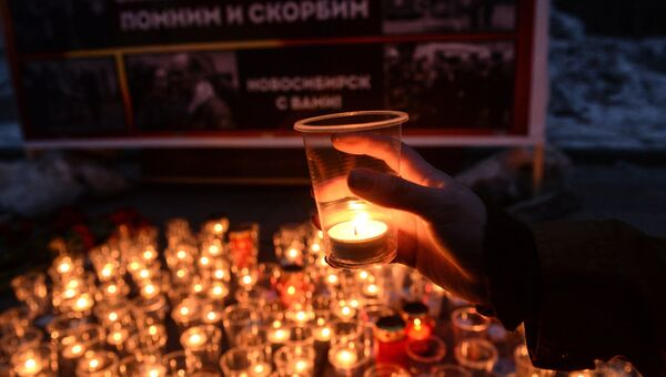 Акция Вечер памяти в память о жертвах теракта в Санкт-Петербурге в Новосибирске