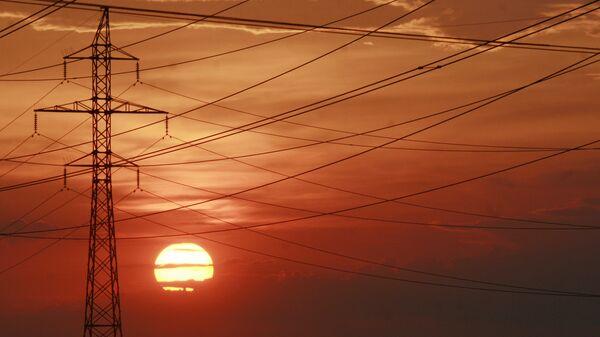 Линии электропередачи в Киеве