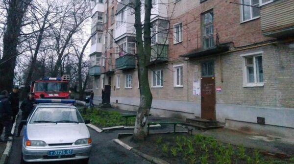 Жилой дом в Таганроге, в котором, предположительно, произошел взрыв газа