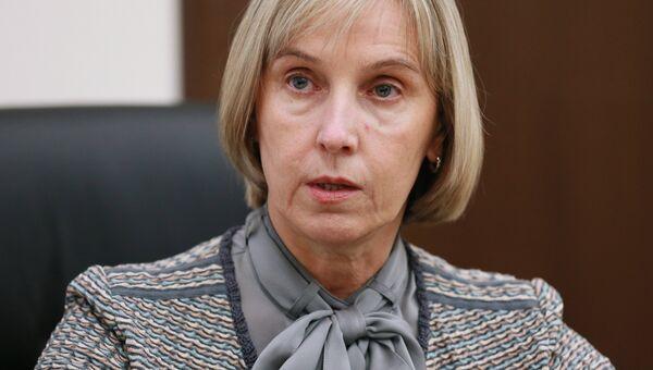 Заместитель министра образования и науки РФ Людмила Огородова. архивное фото
