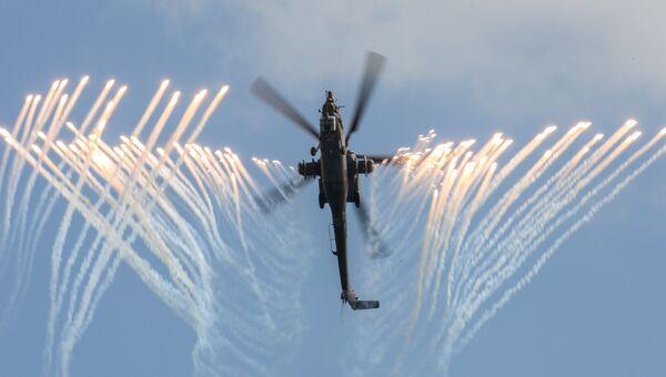 Вертолет Ми-28 Н пилотажной группы Беркуты. Архивное фото