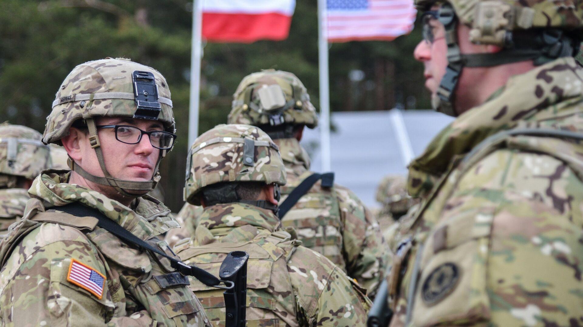 Американские военные в Польше - РИА Новости, 1920, 27.07.2019