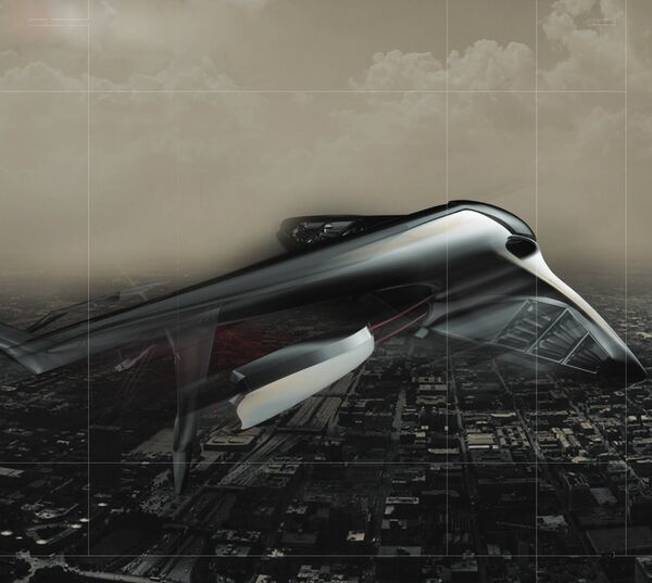 Изображение-концепция проекта LADA 2050 - Видение мобильности будущего