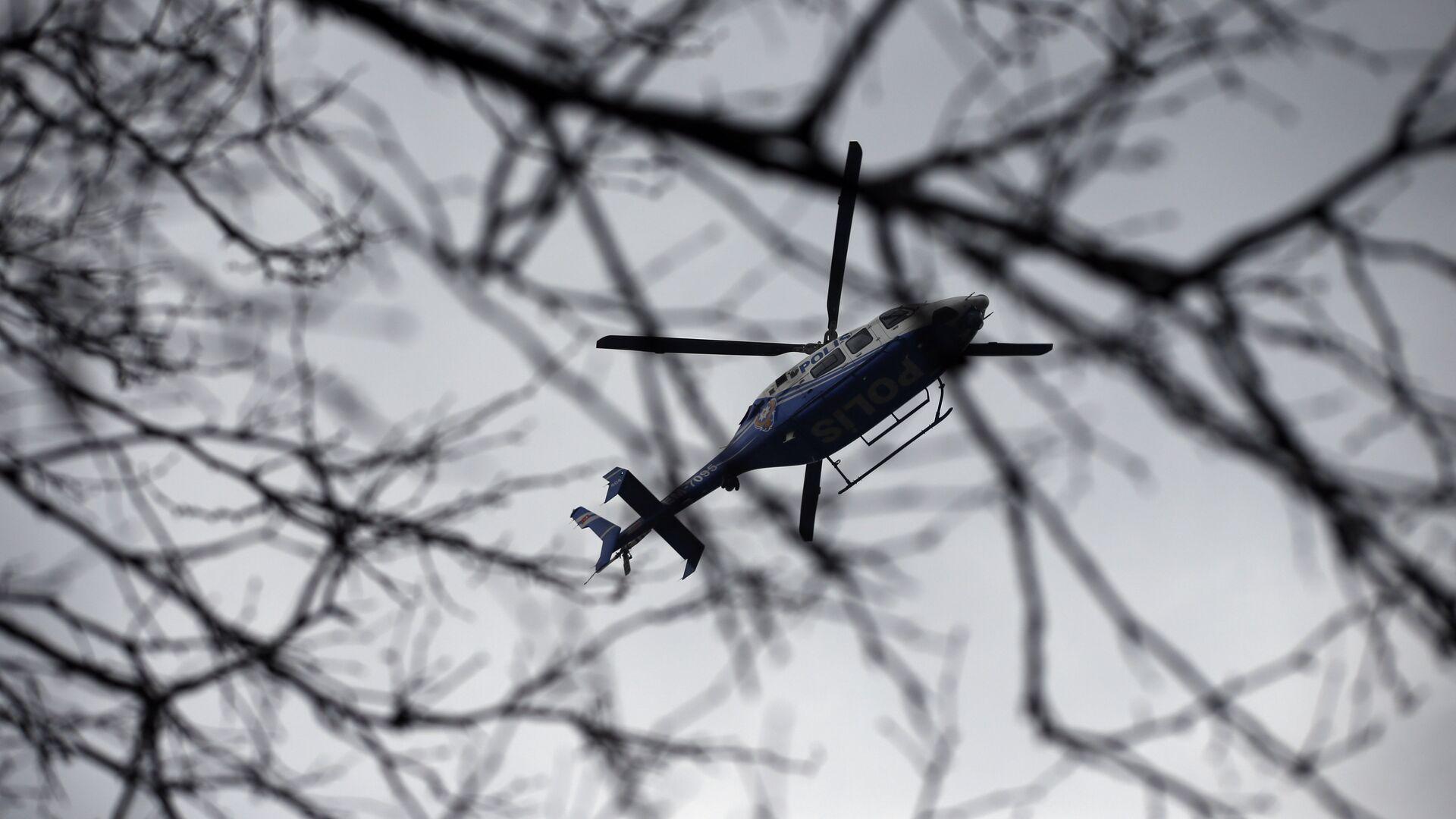 Вертолет турецкой полиции - РИА Новости, 1920, 04.03.2021