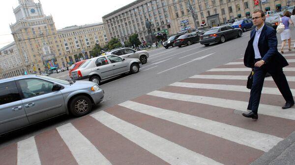 В Москве появятся новые диагональные пешеходные переходы