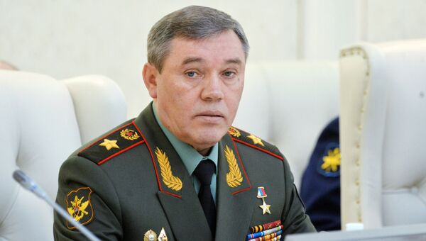 Начальник Генерального штаба Вооружённых Сил Российской Федерации Валерий Герасимов. Архивное фото