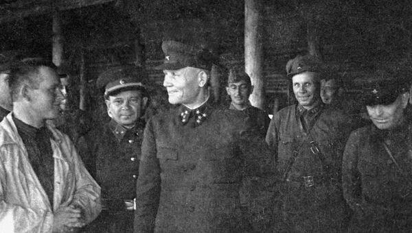 Командующий Калининским фронтом генерал-полковник Иван Конев. 1941 год