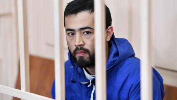 Подозреваемый в соучастии организации теракта в Петербурге Акрам Азимов. Архивное фото