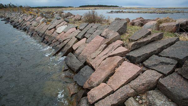 Финский залив в районе острова Мощный. Архивное фото
