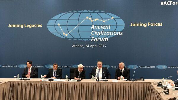 Участники Форума древних цивилизаций. 24 апреля 2017