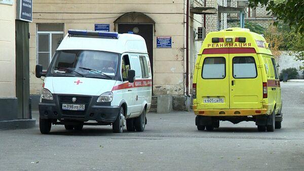 Автомобили скорой помощи в Дагестане. Архивное фото