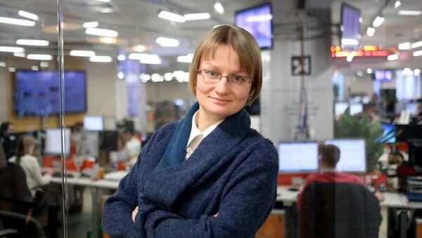 Шеф-редактор информационного агентства РИА Недвижимость Марина Заблудовская