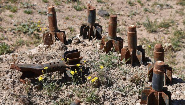 Остатки боеприпасов. Архивное фото