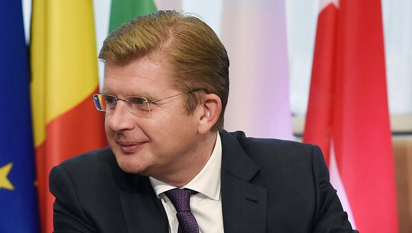 Министр экономики Словакии Петер Жига. Архивное фото