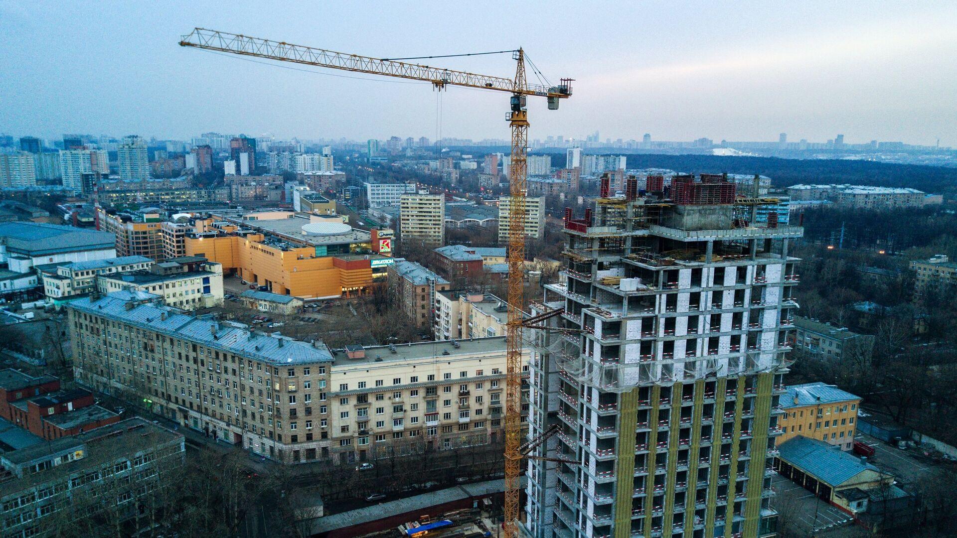 Строительство жилья - РИА Новости, 1920, 21.08.2020