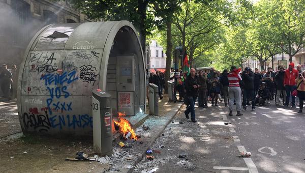 Беспорядки в Париже 1 мая