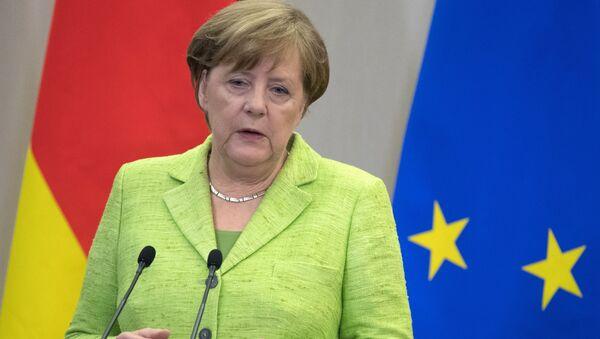 Федеральный канцлер ФРГ Ангела Меркель. Архивное фото.