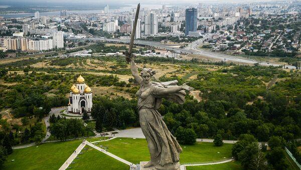 В Волгограде откроется Аллея России
